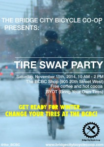 BCBC Tire Swap Poster
